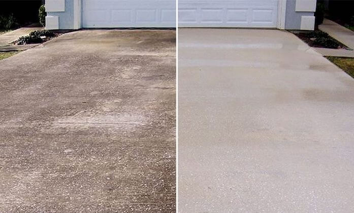 plymouth driveway cleaning